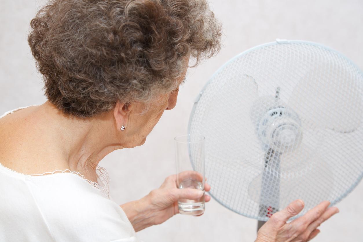 Personnes âgées : attention aux coups de chaleur